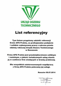 AFG-UDT-list-referencyjny