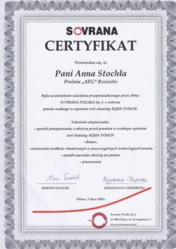 AFG-certyfikat